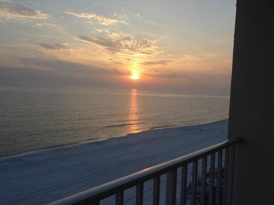 The Beachside Resort: sunset