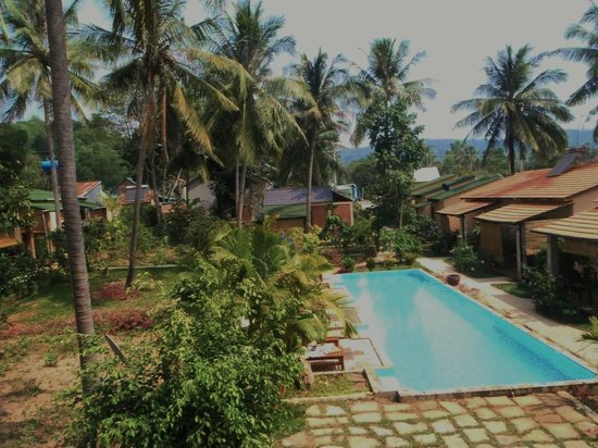 Lan Anh Garden Resort: View from pool-view room