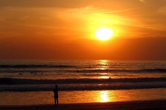 Hotel Tropico Latino: sunset
