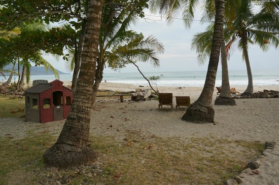 Hotel Tropico Latino: looking out from the resort
