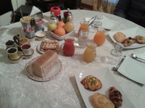 La Casa di El: Petit déjeuner