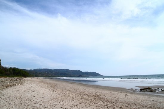 Hotel Tropico Latino: look down the beach in front of Tropico Latino