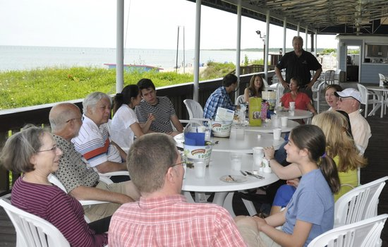 Virginia Beach Resort Hotel and Conference Center: Lunch on the Veranda