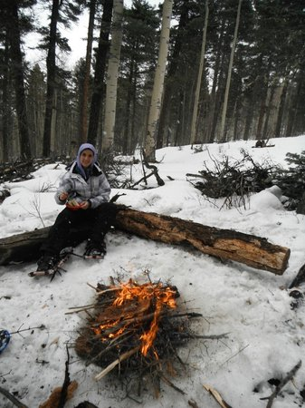 Taos Snowshoe Adventures : awesome lunch