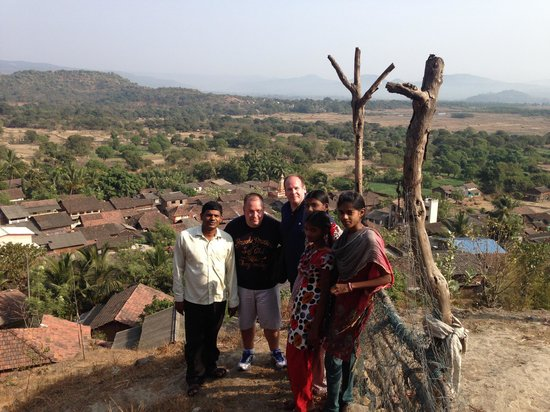 Reality Tours and Travel - Day Tours: Overlooking the village with the villagers