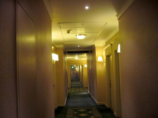 Moscow Marriott Grand Hotel : Hallway