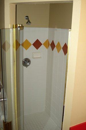 The Barefoot Suites: big shower
