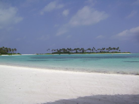 Olhuveli Beach & Spa Resort: View from the sunbed