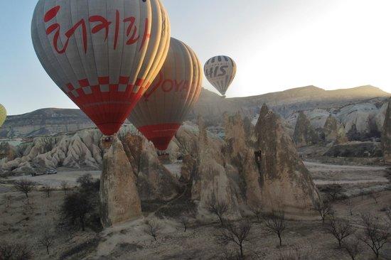Cappadocia Voyager Balloons: Balloons over Cappadocia