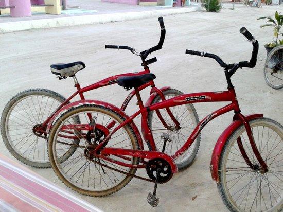 """El Limoncito Breakfast: Tiene """"estacionamiento"""" para bicis, jeje"""