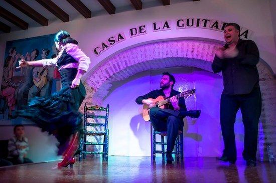 Casa de la Guitarra: Un momento del espectáculo