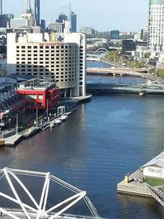 Pan Pacific Melbourne: View from Room