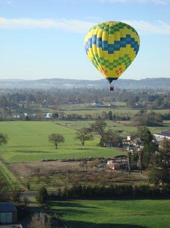 Up & Away Ballooning: Balloon Flight
