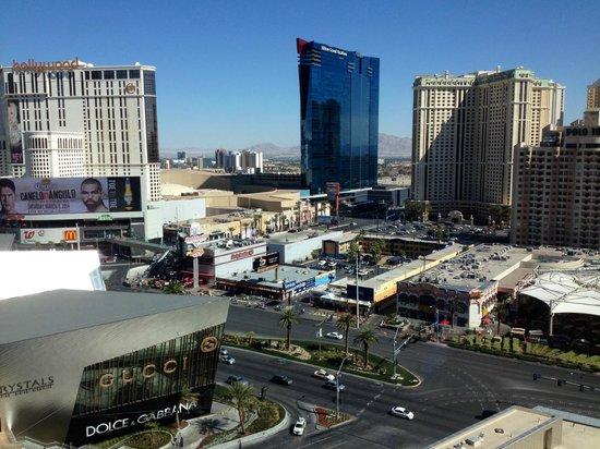 Mandarin Oriental, Las Vegas: Beautiful view from my Mandarin Premier Room