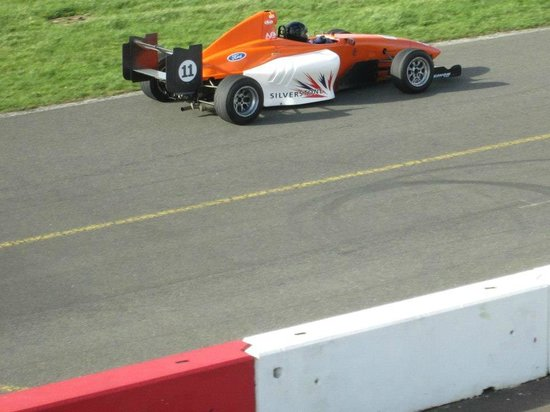 Silverstone Single Seater Experience: My wifes single seater drive.