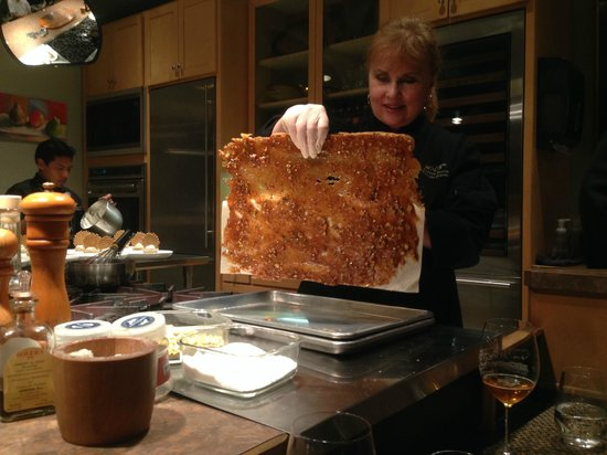 EVOO Cannon Beach Cooking School: It's brittle time