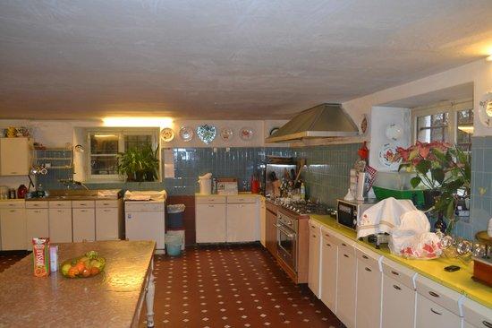 Castello di Roncade: Cozinha