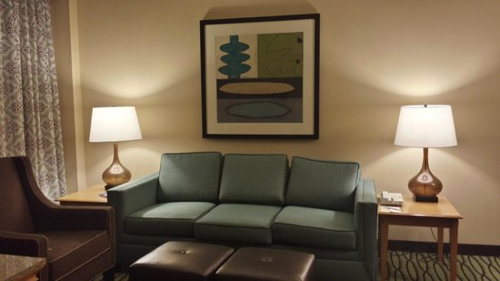 DoubleTree Suites by Hilton Orlando - Disney Springs Area: living room
