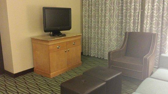 DoubleTree Suites by Hilton Orlando - Disney Springs Area : living room tv
