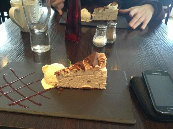 Mangetout: Toblerone Cheese cake !!!!!