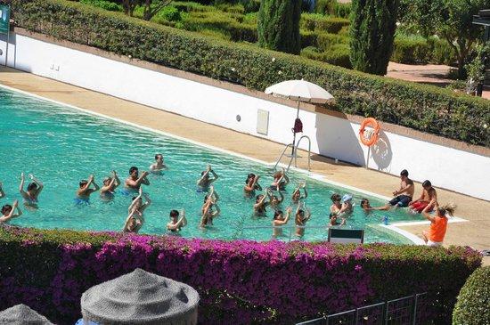 Hotel Fuerte Conil - Costa Luz : Clase aquafitness