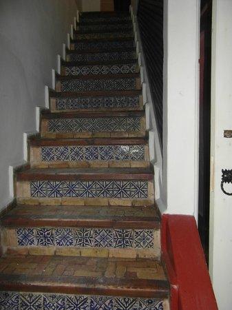 Dar El Paco : The stairway