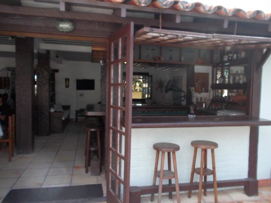 Barla Inn: Salón desayuno-estar-entrada
