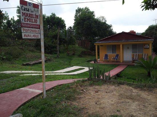 Valle de Vinales : casa particular de Marilin and Emilio