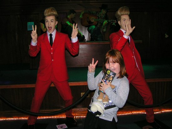 National Wax Museum Plus: jedward are annoying even in wax.