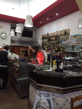 Restaurante Principe Do Calhariz : A peak inside!