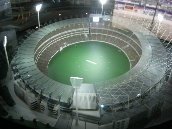 Melbourne Cricket Ground (MCG) : Miniature version