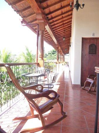 Hotel Xalteva: Upper level. Entrance to condo's 2nd bedroom