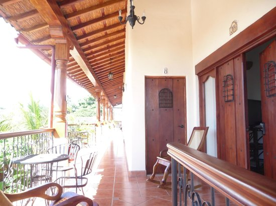 Hotel Xalteva: Main entrance to condo and 2nd bedroom