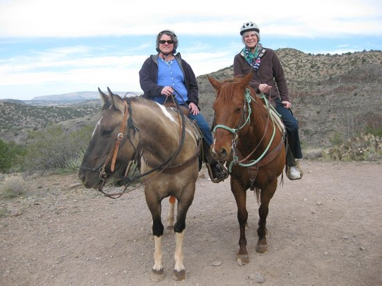Horsin Around Adventures: Fun time! Felt very safe with a confident wrangler to guide us!