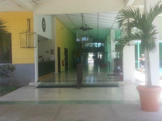 Playa Tortuga Hotel & Beach Resort : hall de ingreso