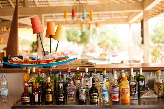 Les Manguiers de Guereo: The bar