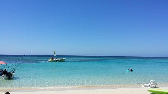 Paradise Beach Hotel : View at the beach each day...