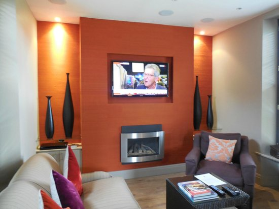 Rudding Gates: Lounge with great Plasma