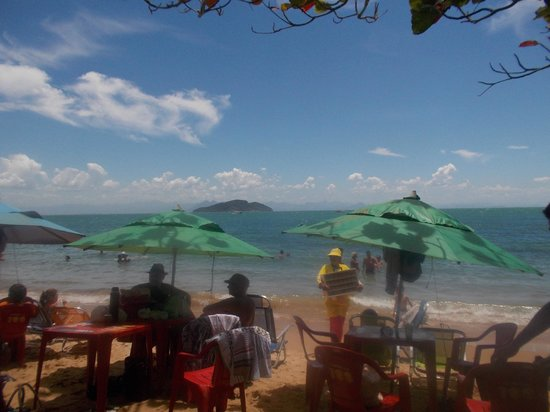 Tartaruga Beach: Sol da Tartaruga Restaurante/Parador