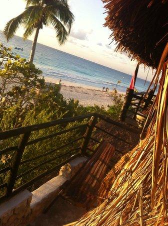 Playa Esperanza: view from the balcony