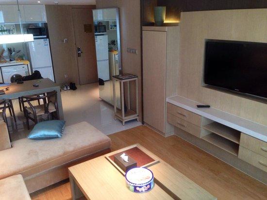 Pan Pacific Ningbo: Living room