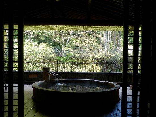 Kinosaki Onsen Nishimuraya Hotel Shogetsutei: 貸切風呂 半露天