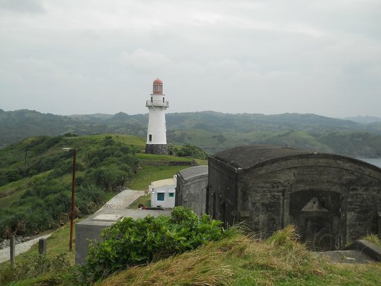 Basco Lighthouse: old bunker & lighthouse Basco Batanes Philippines