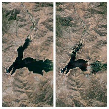 Lake Isabella: Lake levels