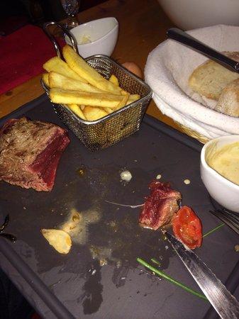La Porte d'A Cote : Rare fillet steak