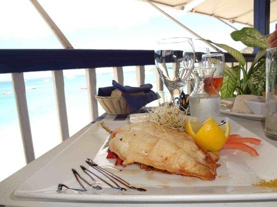 Restaurant le Soleil : Filet de sole grille