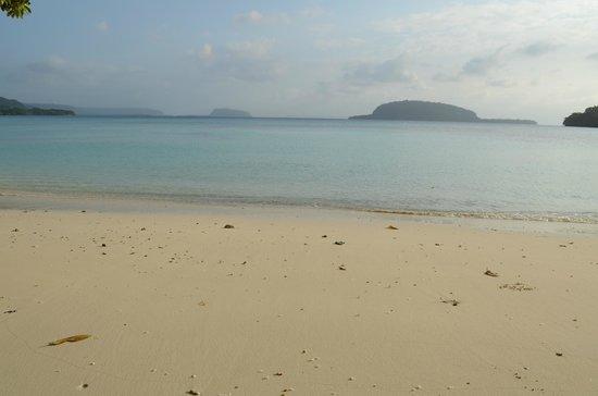 Lonnoc Beach Bungalows: Beach - Elephant island in vicinity