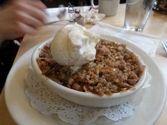 Mother's Bistro & Bar : Apple Crisp - PERFECTION
