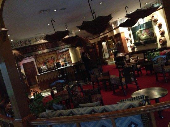 Nairobi Serena Hotel : Bar/lounge area