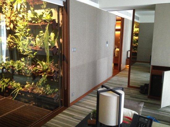 Hansar Bangkok Hotel : Hanging garden in suite